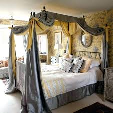 Canopy Bed Drapes Round Beds With Curtains Large Size Of Curtain ...