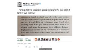 culture the language rules we know but don t know we know tweet credit matthew anderson