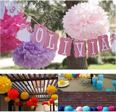 Decorative Tissue Paper Balls Awesome 32 Inch 32cm Decorative Tissue Paper Honeycomb Balls Flower Pastel