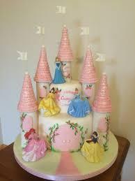 Disney Princess Castle Cake Annas Birthday Castle Birthday