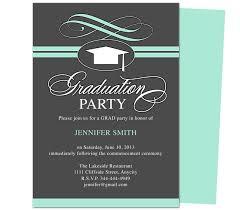 Templates For Graduation Invitations Graduation Party Invitation Templates Magdalene Project Org