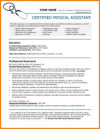 Physician Assistant Resumes New Medical Assistant Resume Sample Reference New Entry Level Medical