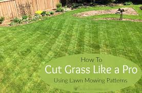 Mowing Patterns Custom Lawn Mowing Patterns How To Cut Grass Like A Pro
