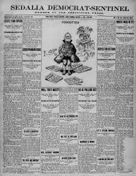 The Sedalia Democrat from Sedalia, Missouri on October 3, 1909 · Page 1