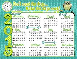 Annual Calendar 2015 2015 Annual Calendar Make It Count Inkhappi