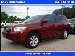 Used 2010 Toyota Highlander Base 4wd For Sale In Mobile Al 36608 Skco Automotive Toyota Highlander Used Suv Automotive