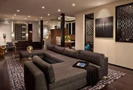 luxury homes interior pictures. contemporary living room with carpet, hayden fabric bench, sunken room, napa charcoal luxury homes interior pictures .