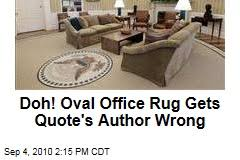 oval office carpet. Oval Office Rug Gets Quote\u0027s Author Wrong Carpet