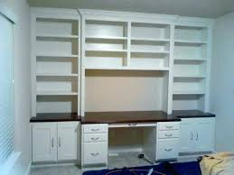 dual desk bookshelf small. Bookcase With Built In Desk Bookshelves Wall Units Desks And Bookshelf Plans Dual Small