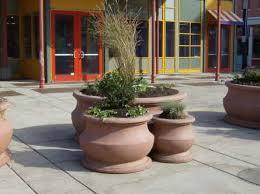 large cement planters. Large Planters, Concrete Planter, Cement Planter Box, Planters Sale, Pots,