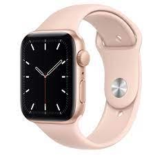 Apple Watch SE GPS, 44mm Gold Aluminum ...