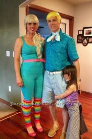 Attraktiv Barbie And Ken Costume From Toy Story