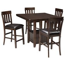 Dinning Room Table Set Signature Design By Ashley Haddigan 5 Piece Dining Room Counter