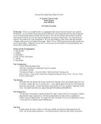 Science Report Format Conclusion Template For Report Physics Lab Science