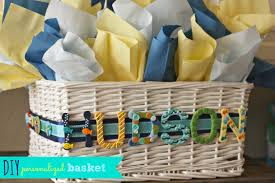 relieving diy baby bath gift basket