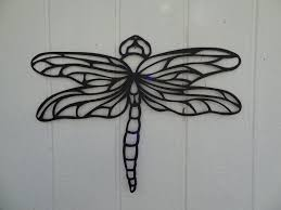 custom made dragonfly 2ft metal wall art home garden kitchen decor on metal insect wall art with custom dragonfly 2ft metal wall art home garden kitchen decor by say