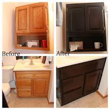 Oak Cabinets Stained Dark Staining Oak Cabinets