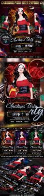 christmas party flyers go graphic studio christmas party flyer template v2 events flyers
