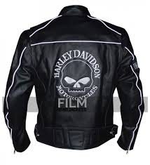 add to compare harley davidson willie g reflective skull motorcycle black jacket