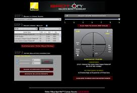Bdc Chart For Nikon Scopes Bullet Drop Compensation With Nikon Spot On Technology