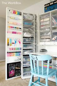 craft room office reveal bydawnnicolecom. Awesome Craft Room Storage Unit! The WorkBox By Original Scrapbox Seen On Www. Office Reveal Bydawnnicolecom