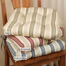 Country Plaid Check Apple Magnificent Kitchen Chair Cushions