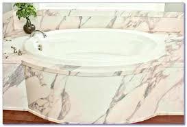 cleaning acrylic bathtub bathtub