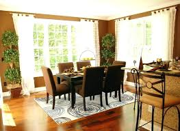 rug under dining room table or not rug under dining room table adding to the dining