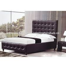 China modern leather bed from Wholesaler: Nice Furniture Co. Ltd