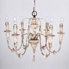antique white chandelier 6 light wood chandelier distressed antique white antique white chandelier shabby chic