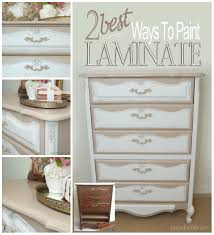 two best ways to paint laminate furniture