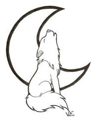 baby wolf howling drawing. Brilliant Wolf Cartoon Howling Wolf Coloring Pages And Baby Drawing T