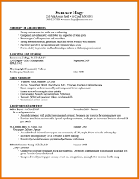 8 Resume Objective Student Budget Reporting