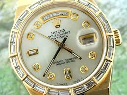 rolex men oysterquartz rolex men oysterquartz men mother of pearl diamond hour markers