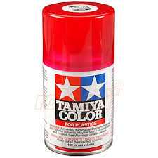 tamiya ts74 clear red lacquer spray