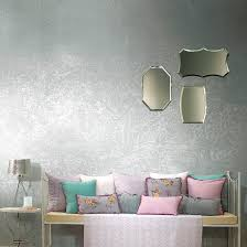 decorative paint for walls interior metallic look