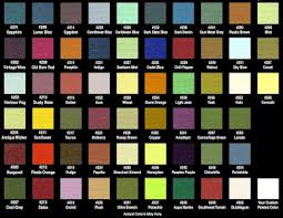 Mid America Siding Components Color Chart Mid America