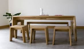 Bench Dining Table With Seats Intended For Home Chairs Price In Bench Seating For Dining Table