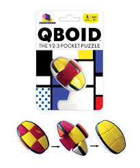 qboid is the perfect pocket sized puzzle for every tiny twisty teaser lover comfortably desk toysthe