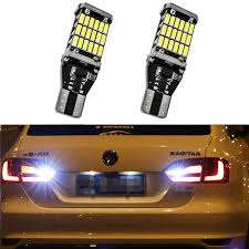 Us 3 94 21 Off 2x T15 W16w Led Bulb Canbus Car Backup Reverse Lights For Vw Golf 5 6 7 Touareg Passat B5 B6 B7 Jetta Beetle Cc Eos Gti Phaeton In
