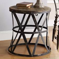 round wood andal end table glass tableround coffee amazing design photo with cool round glass metal end tables small chrome and table brass high