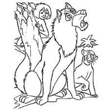 Top 15 Free Printable Wolf Coloring Pages Online