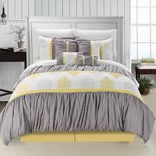 comforter sets gray white comforter shabby chic grey white yellow comforter rustic white wooden panel