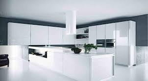 High Gloss White Kitchen Best Modern White Kitchen Cabinets All Home Designs