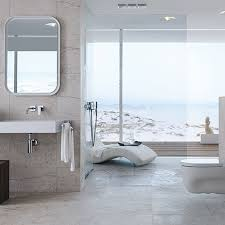floor level shower with axor showercollection