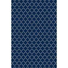 quaterfoil design 4ft x 6ft blue white indoor outdoor vinyl