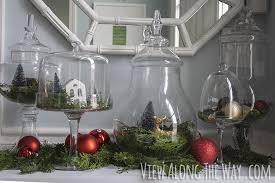 Apothecary Jars Christmas Decorations BudgetFriendly Christmas Decorations View Along The Way 20