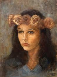 fine art ramonna oil original painting artwork on canvas by artist darko topalski gallery