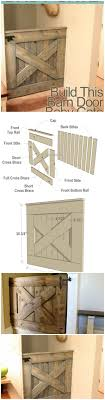 diy barn door baby gate free plans