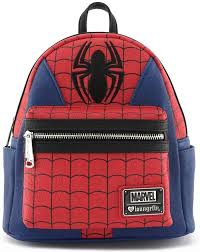 Купить <b>Рюкзак</b> Loungefly: <b>Marvel</b>: <b>Spider</b>-Man Suit Mini <b>Backpack</b> ...